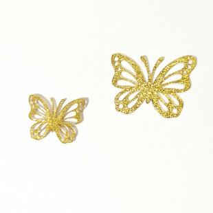 نماد طلایی پروانه کد 18