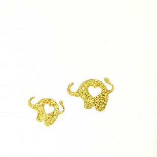 نماد طلایی فیل  39