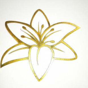 استیکر گل ستاره 083