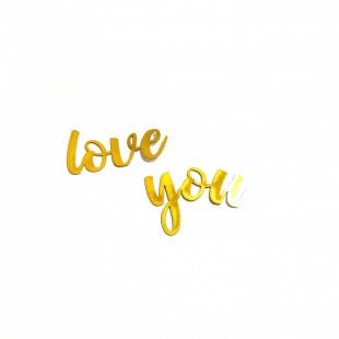 استیکر   love you  9