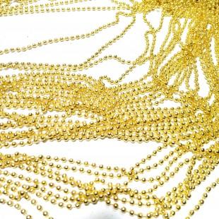 زنجیر ساچمه طلایی 044