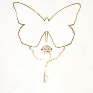 استیکر چهره پروانه شماره 65