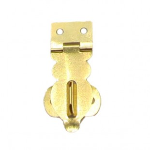 چفت آنتیک طلایی قفل خور 131