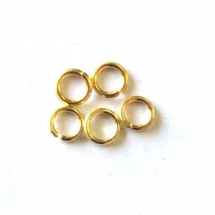 خرج کار حلقه اتصال طلایی  4 سانتی کد143