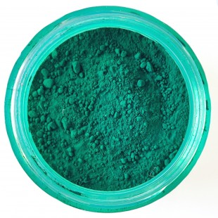 پودری پیگمنت اپوکسی رنگ سبز تیره معدنی کد 116