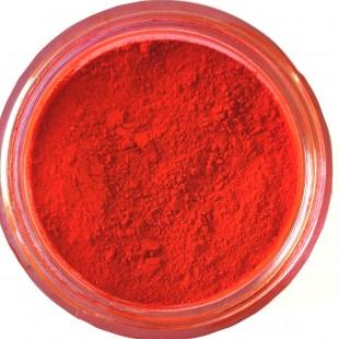 پودری پیگمنت اپوکسی رنگ قرمز روشن معدنی کد 109