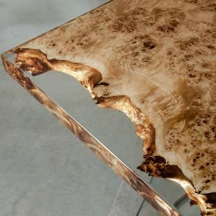 رزین اپوکسی OZ رقیق شفاف چوب