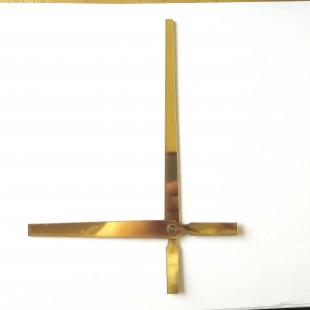 عقربه ساعت طلایی 18cm