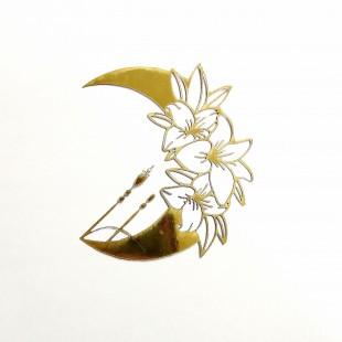 استیکر ماه گل شماره 54