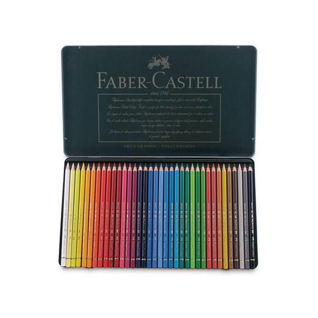 مداد رنگی 36 رنگ پلی کروم فابر کاستل