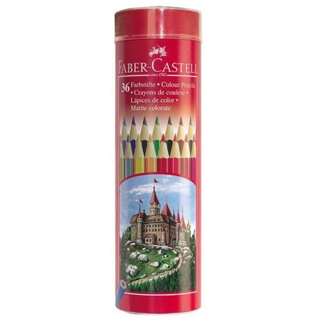 مداد رنگی 36 رنگ فابر کاستل
