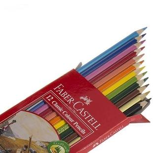 مداد رنگی 12 رنگ فابر کاستل