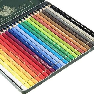 مداد رنگی 24 رنگ پلی کروم فابر کاستل