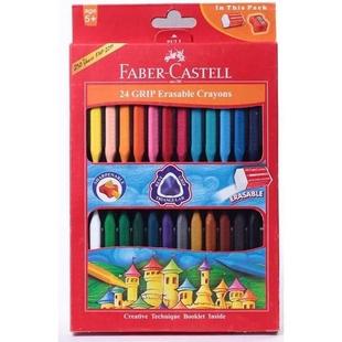 مداد شمعی 24 رنگ فابر کاستل