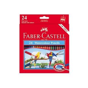 مداد آبرنگی 24 رنگ فابر کاستل مدل کلاسیک