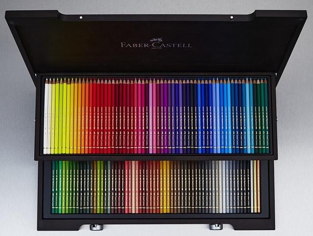مداد رنگی پلی کروم 120 رنگ