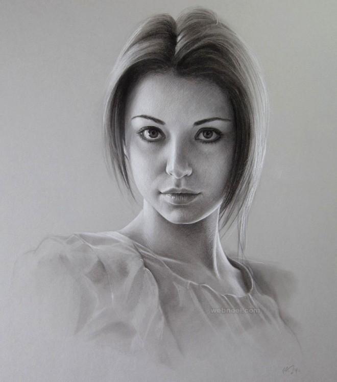 ایده نقاشی و طراحی چهره