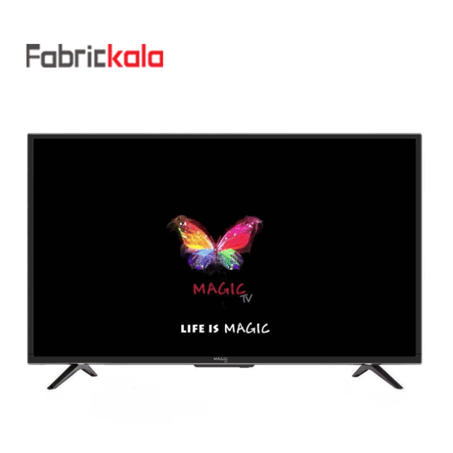 تلویزیون ال ای دی هوشمند مجیک مدل 55D2800 سایز 55 اینچ