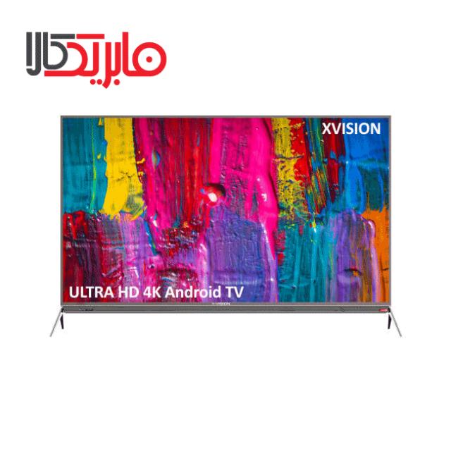 تلویزیون ایکس ویژن مدل X.VISION 55XKU645 سایز 55 اینچ