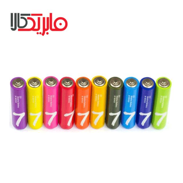 باتری قلمی آلکالاین شیاومی مدل ZI5 بسته 10 عددی