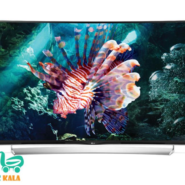 تلویزیون ال ای دی منحنی 55 اینچ ال جی  55UG87000GI