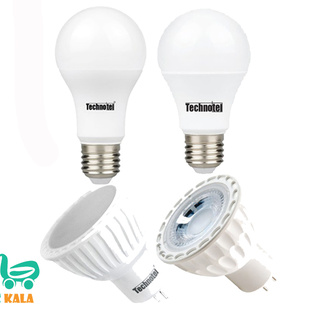 سبد 8 تایی لامپ ال ای دی تکنوتل