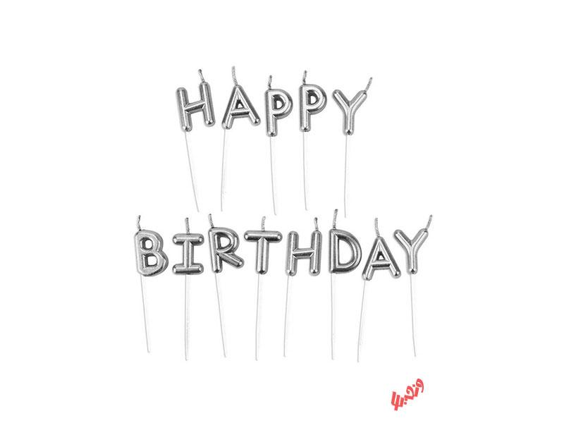 شمع تولد بانیبو مدل Happy Birthday
