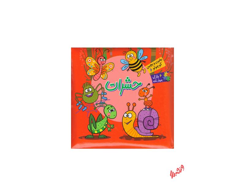 کتاب بخون و بچین کوچولو 6 حشرات اثر مجید عاقله