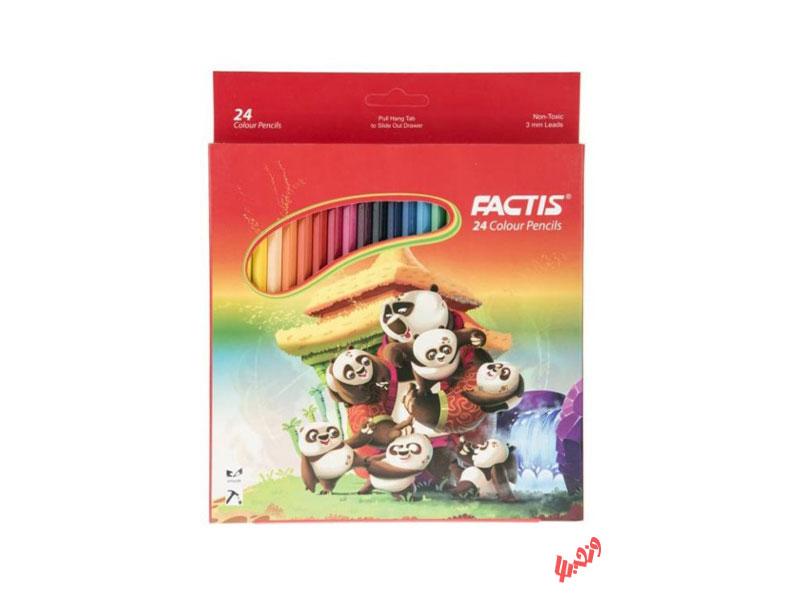 مداد رنگی 24 رنگ فکتیس
