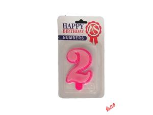 شمع تولد آس مدل عدد 2