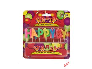 شمع تولد مدل Happy Brithday