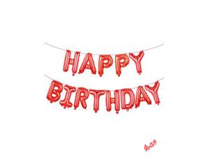 بادکنک فویلی مدل Happy Birthday