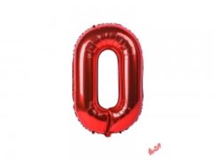 بادکنک تولد مدل عدد 0 فویلی