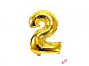 بادکنک تولد مدل عدد 2 فویلی