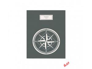 دفتر کلاسوری جلد سخت 100 برگ پاپکو کد PN-6180