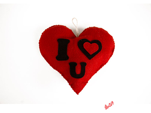 قلب نمدی Iloveyou
