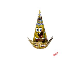 کلاه تولد تاجدار باب اسفنجی
