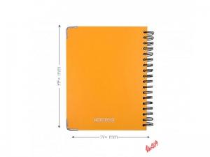 دفتر پاپکو جلد سخت 100برگ