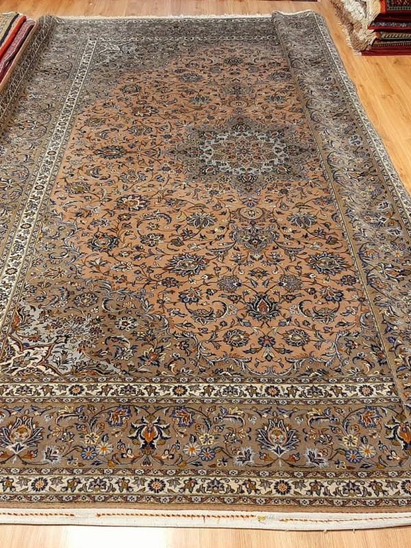 فرش دستبافت کاشان_ابعاد:410*300