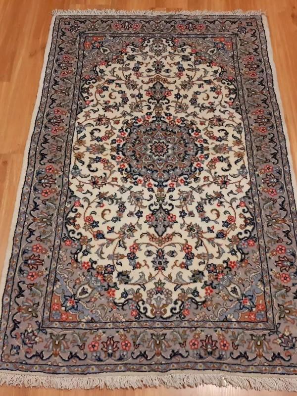 فرش دستبافت کاشان_ابعاد:155*100