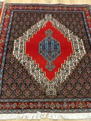 جفت فرش دستبافت سنندج_ابعاد:150*120