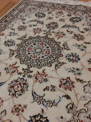 فرش دستبافت نائین_ابعاد:100*73