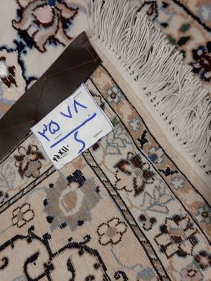 فرش دستبافت نائین_ابعاد:110*65