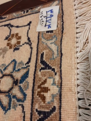 فرش دستبافت نائین_ابعاد:210*115
