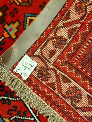 فرش دستبافت قشقایی_ابعاد:200*130