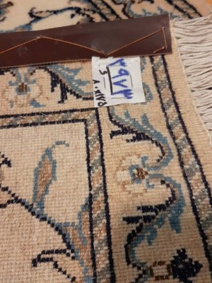 فرش دستبافت نائین_ابعاد:175*80