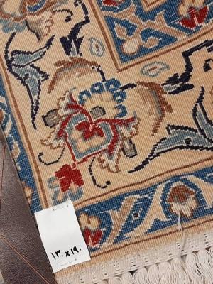 فرش دستبافت نائین_ابعاد:190*130