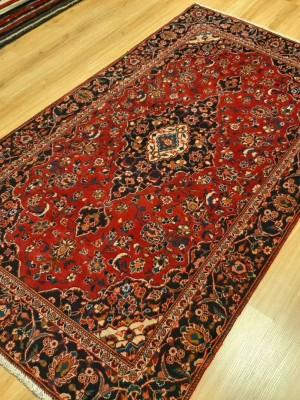 فرش دستبافت کاشان _ابعاد:210*125