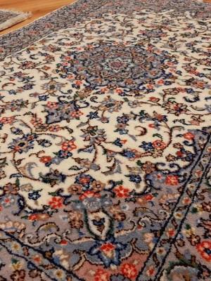 جفت فرش دستبافت کاشان_ابعاد:155*100