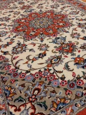 فرش دستبافت کاشان _ابعاد:154*100
